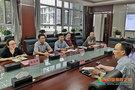上海财经大学研究生院常务副院长徐龙炳教授来新疆财经大学交流