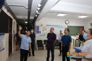 河南城建学院副校长贺国营带队检查秋季开学准备工作
