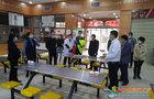 南昌市经开区防疫指挥部对江西科技师范大学开学防疫准备工作进行检查