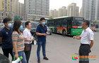 淮北师范大学党委副书记朱德顺看望慰问返校学生和接站工作人员