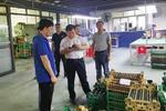 重庆工程职业技术学院党委书记易俊带队深入企业调研学生就业