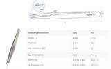 Rubis電子組裝鑷子00D-SA 瑞士原裝進口鑷子