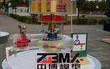 动态仿真的水利模型_700MW机组水力发电厂整体仿真模型|中博专业制作水利工程模型