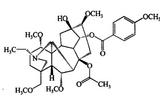 草乌甲素,107668-79-1,bulleyaconitine A