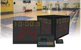 凯哲视讯篮球比赛计时记分系统无线有线24秒计时器单面双面四面裁判控制台