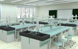 56位生物实验室-实验台