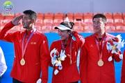 南体健儿勇夺第十四届全运会网球混双冠军