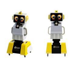 沃柯雷克人脸识别晨检机器人受追捧—红宝识非接触晨检机器人热卖