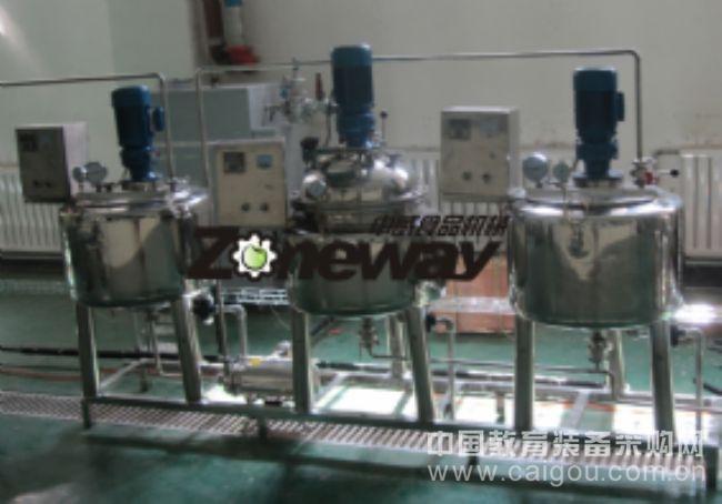 实验室调配罐、发酵罐、酶解罐