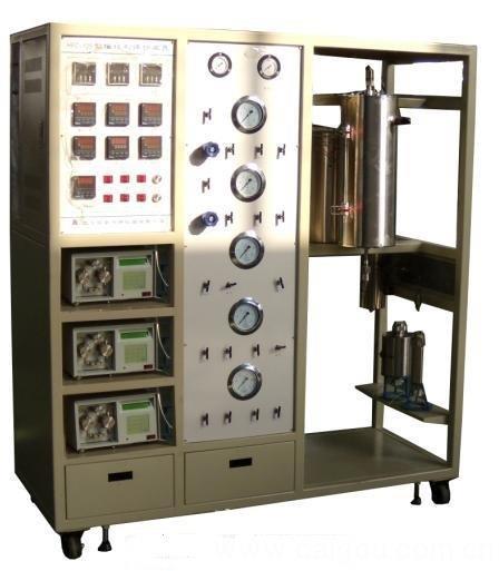 移动床反应器,流化床反应器,固定床反应器,碳五加氢试验装置