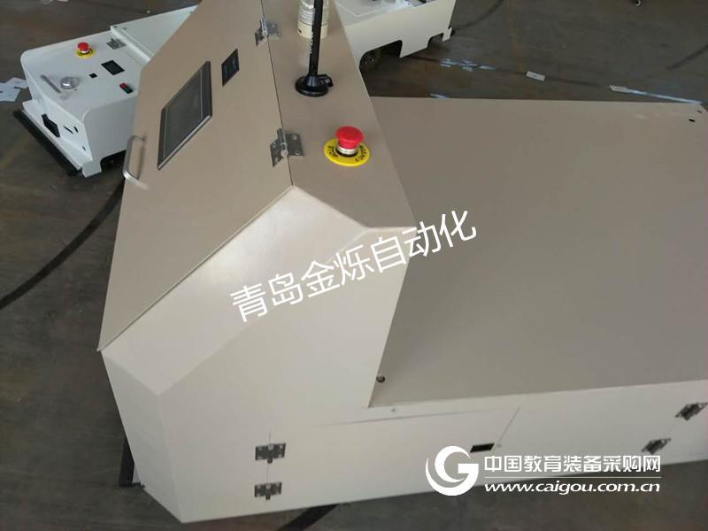 山东800KG单向承载式AGV小车/无人搬运车/自动寻线送料车