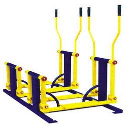 健身鍛煉雙位平步機加工生產廠家