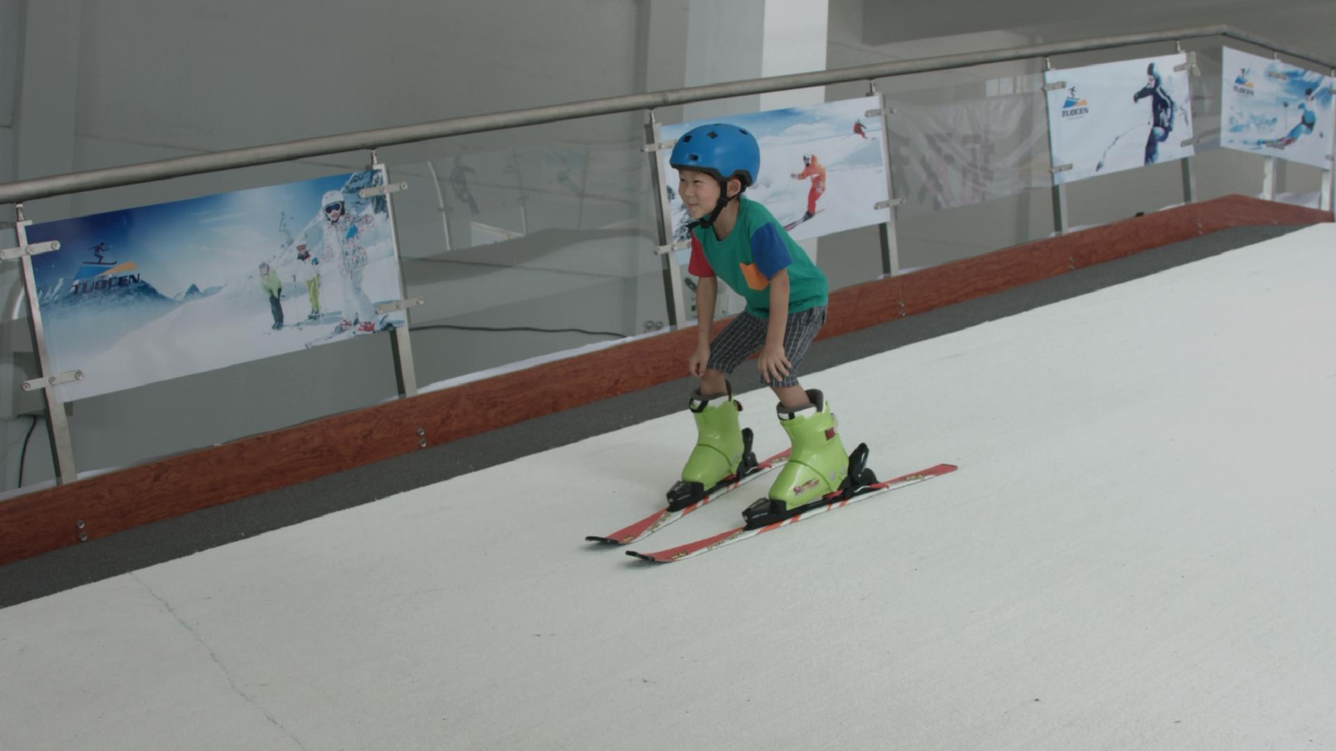 兒童滑雪體驗機 新疆室內滑雪模擬器 兒童滑雪體驗機廠家