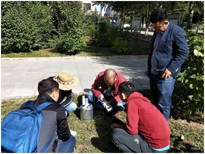 Soilbox-343便携式土壤呼吸测量仪在内蒙财经大学投入使用