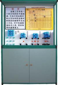 JD-07H《金属工艺学》CD解说陈列柜