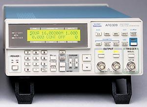 雙通道可編程任意函數發生器 AFG320