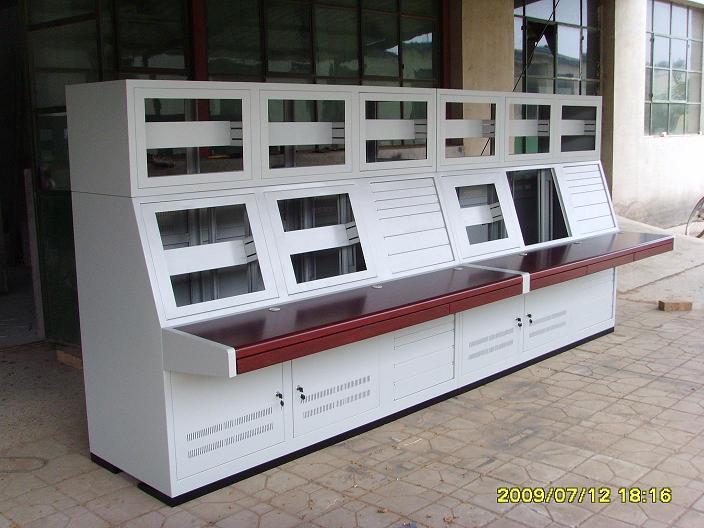 顶箱式控制台双联控制台六人位操作控制台