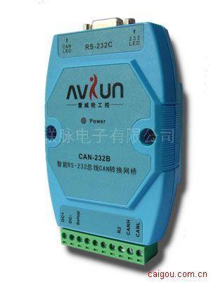 Link-Max CAN轉485/CAN轉232智能型CAN轉串口轉換網橋