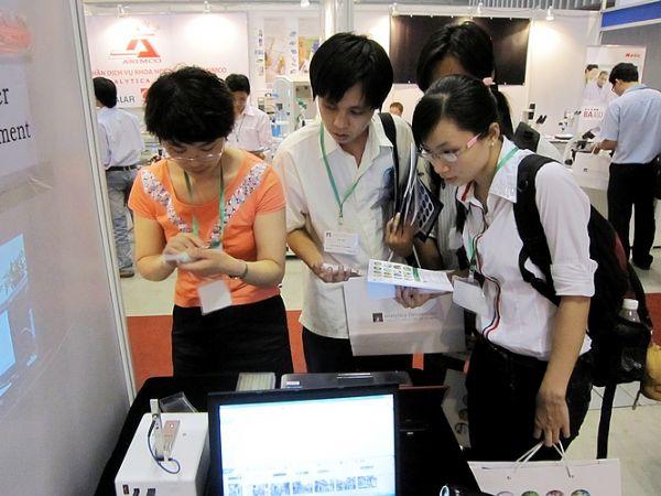 五洲东方参展越南analytica Vietnam展览会