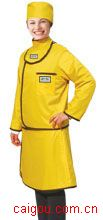 C321长袖双面分体套裙标准粘扣型