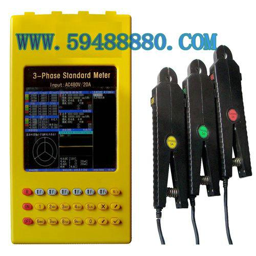 彩色三相多功能电能测试仪 型号:JCV1/DJ-3A