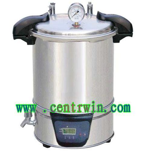 手提式不锈钢电热蒸汽灭菌器(18L电热型) 型号:SHKYX-280A