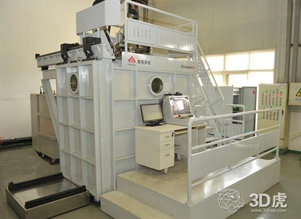 西安智熔推出中国首台电子束金属3D打印机