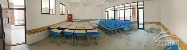 云阳实验中学校建设有序 确保秋季顺利开学